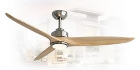 พัดลมไม้จริง